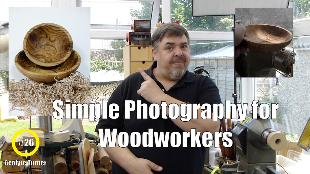Video: Simple Photography Tips for Woodturners